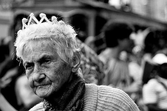 Dona Didi. A rainha do bloco.