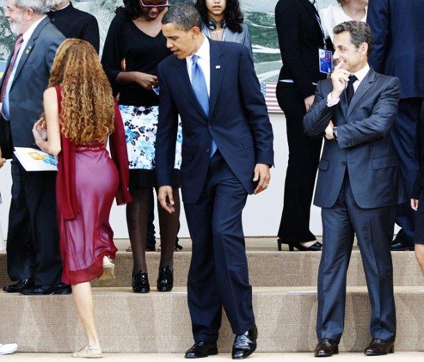 Eu vi essa hein, Obama.